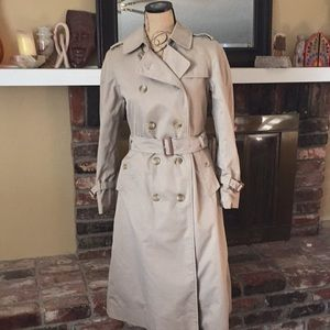 Vintage Burberry women's trench coat